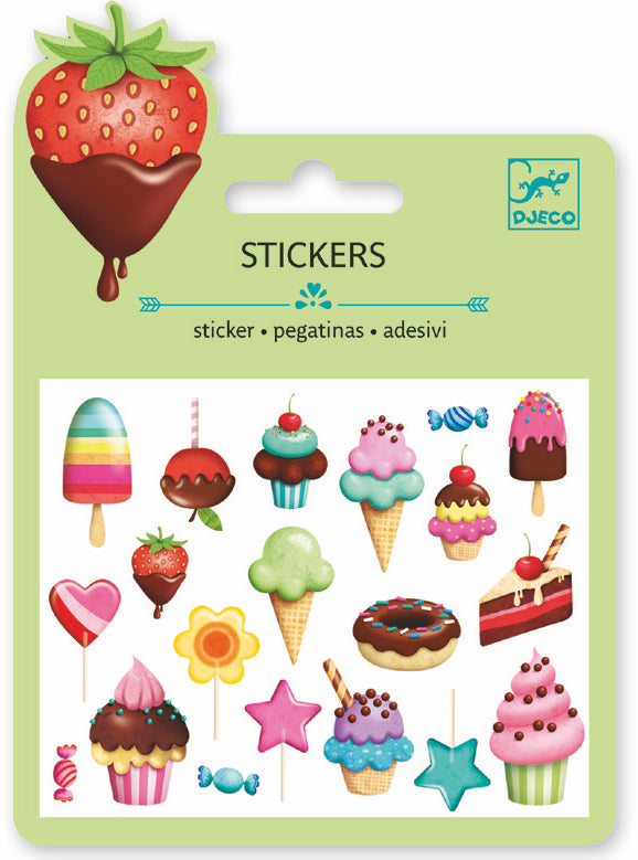 Djeco Mini Sticker - Sucres
