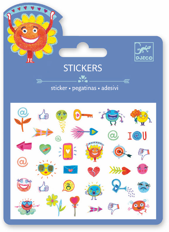 Djeco Mini Sticker - Symbols