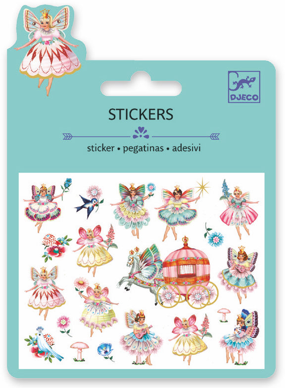 Djeco Mini Sticker - Fairies And Tiny Wings - Da Da Kinder Store