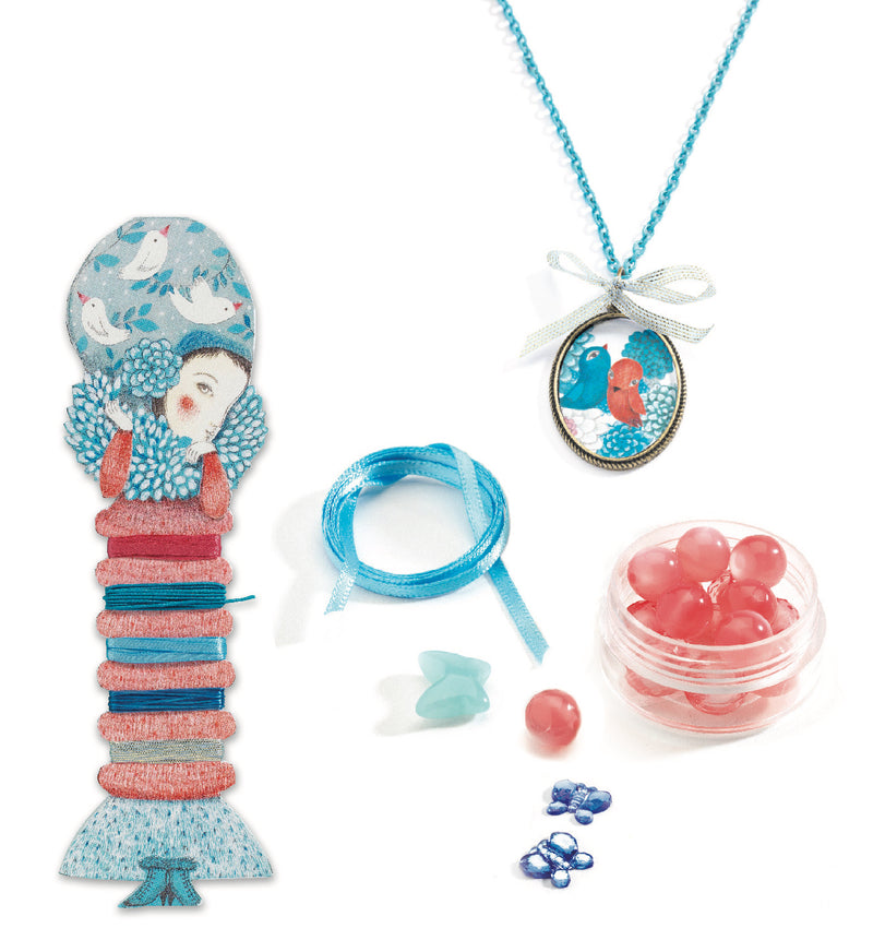 Djeco Oh ! Pearls and Birds Beads