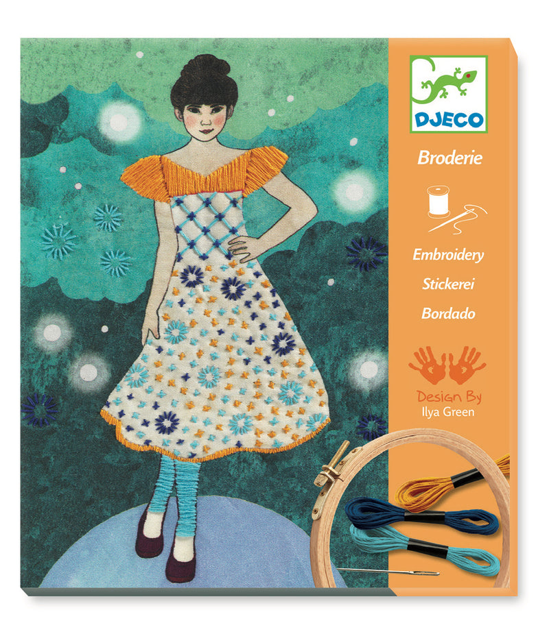 Djeco Embroidery - Fashion Midnight