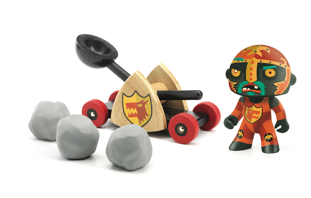 Djeco Arty Toys Knights - Baldy & Big Paf