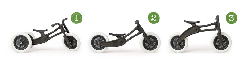 3 in 1 Balance Bike Recycled Edition Wishbone