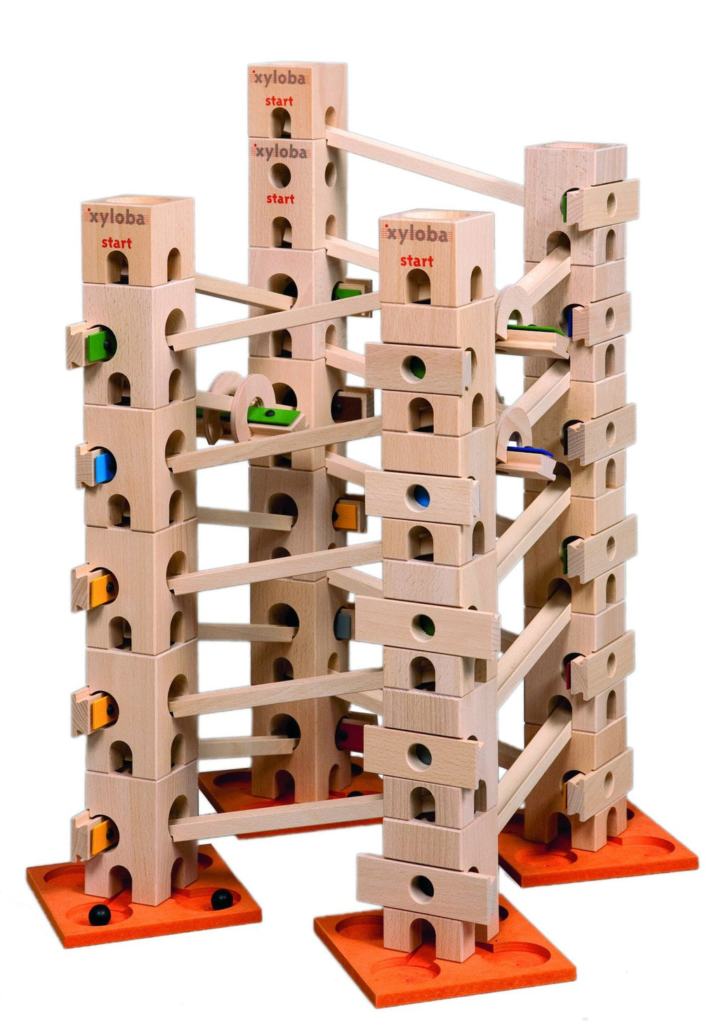Xyloba Marble Run ~ Extension Set Folksong 2