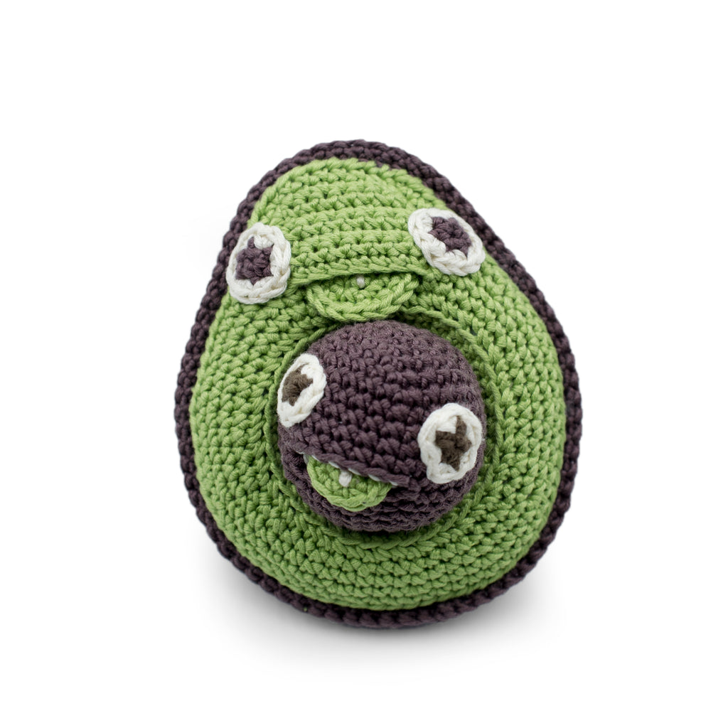 Myum Avocado Rattle - Da Da Kinder Store