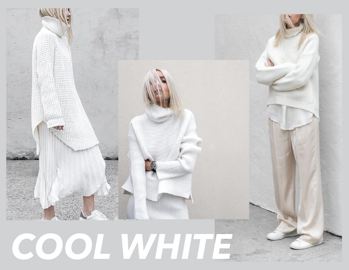Cool white!