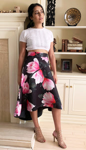 Kew printed skirt