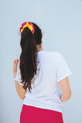 Las Cruxes - Matte Scrunchie (Various Colors)