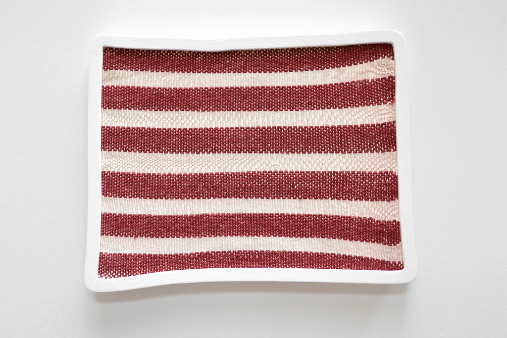 Ana Esteve Llorens - 'Untitled (Stripes Red)'