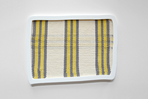 Ana Esteve Llorens - 'Untitled (Rectangular Stripes Yellow)'