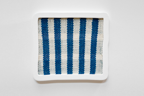Ana Esteve Llorens - 'Untitled (Five Stripes Blue)'