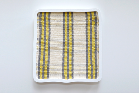 Ana Esteve Llorens - 'Untitled (Square Stripes Yellow)'