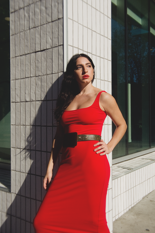 Maryam Nassir Zadeh - Salma Dress Long (Red)