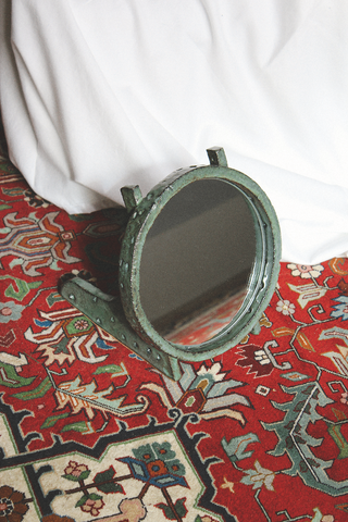 Morgan Peck - Ramp Mirror (Dark Water Green)