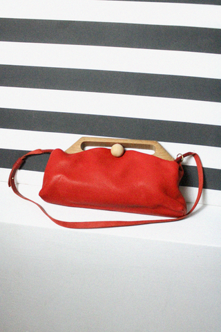 Eatable of Many Orders - Tin Clutch Bag (Red)