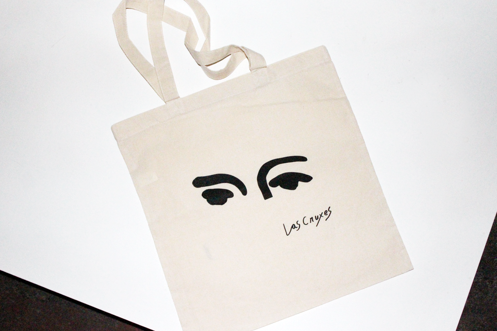Las Cruxes - Eyes Tote (Black)