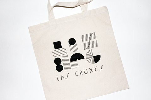 Las Cruxes - Graphic Tote (Black)