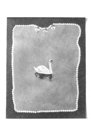 Ashley Thomas - 'Necklace and Swan'