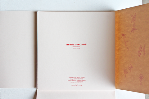Ashley Thomas - 'Selected Works' Book