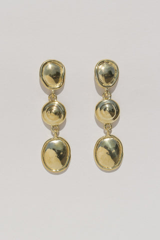 Mondo Mondo - Priscilla Earrings (Brass)