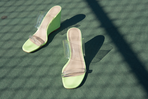 Maryam Nassir Zadeh - Olympia Wedge (Sun Fluorescent)
