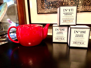 Wellness Pack - Artisan Tea Box with Tea Pot