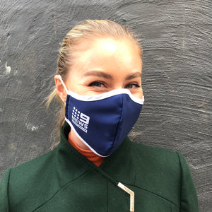 Custom logo printed face Masks -View our mocks ups here, $10 plus Gst