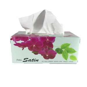 Sunrise Tissues 2ply 180mm x 180mm : 180 pieces per pack - In Stock
