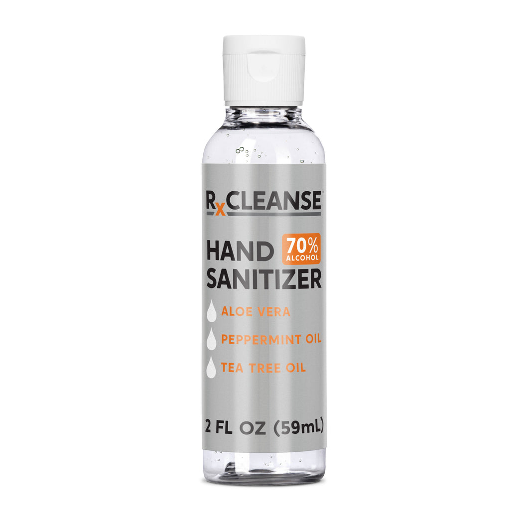 2 Ounce Bottle RXCleanse Hand Sanitizer