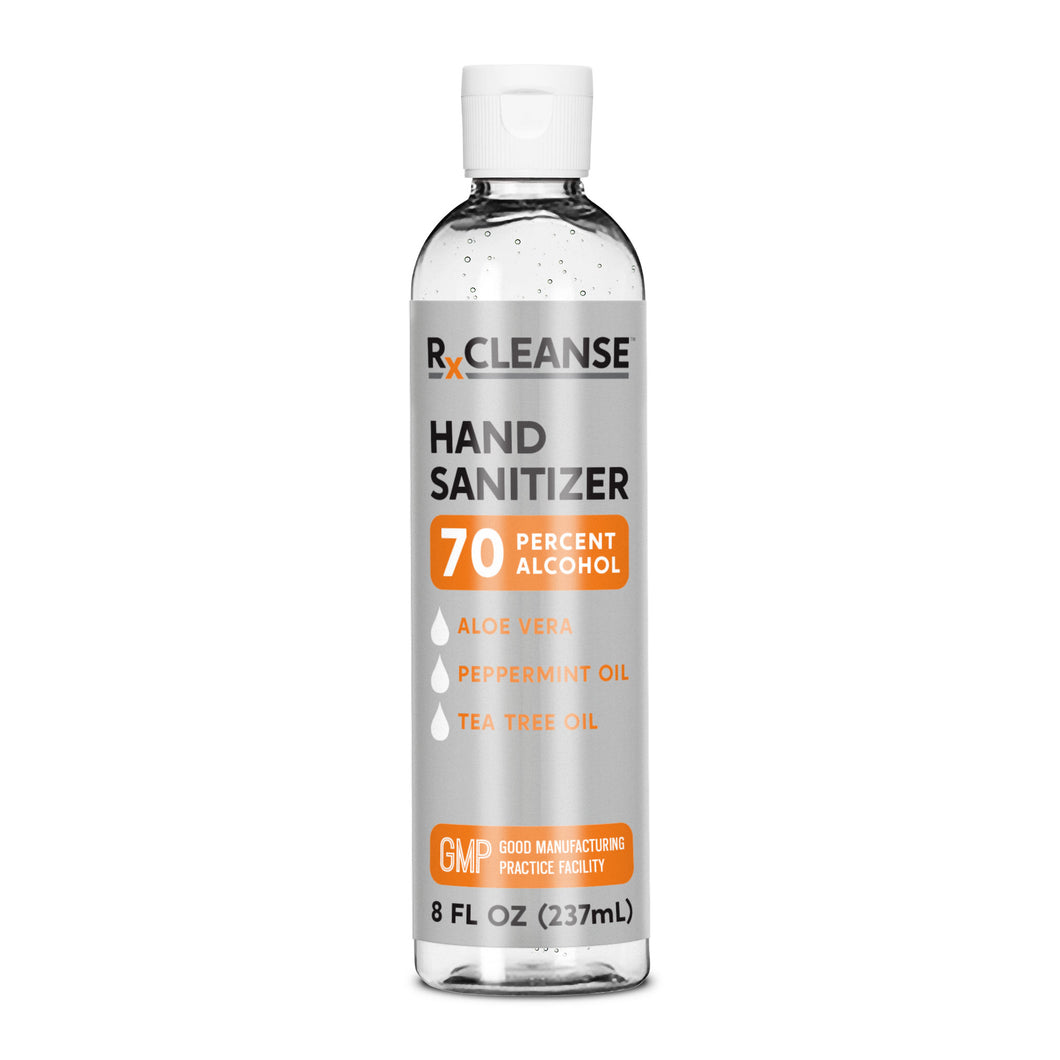 8 Ounce Bottle RXCleanse Hand Sanitizer