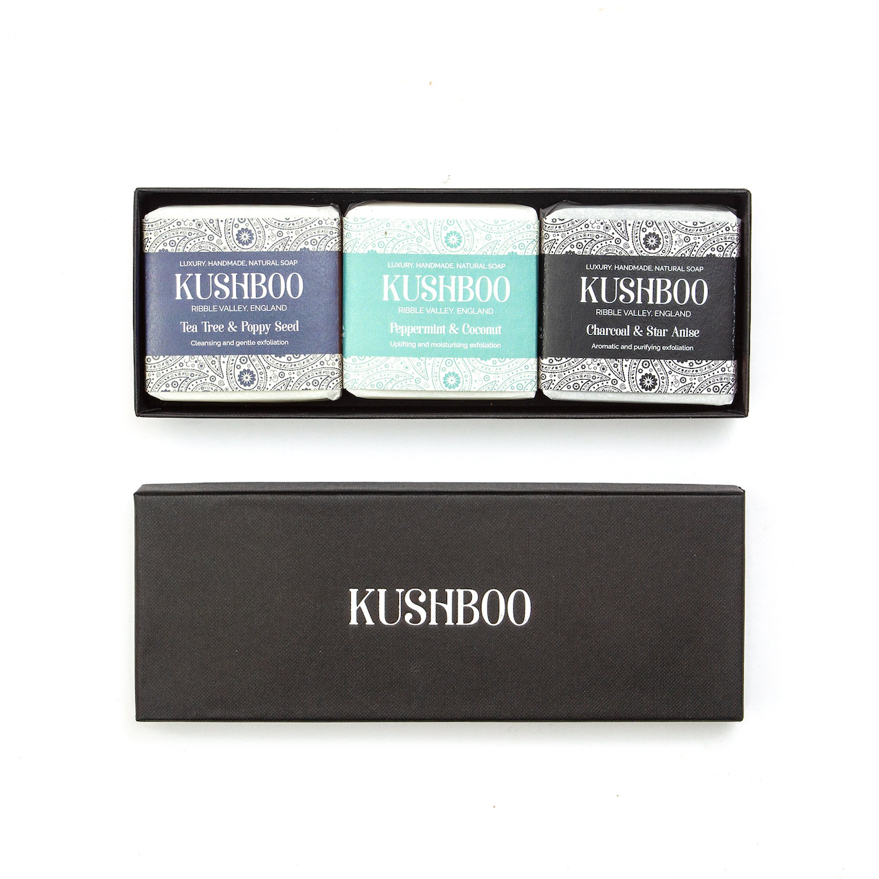 Handpicked for Men Soap Gift Box