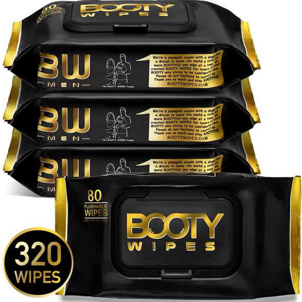 BOOTY WIPES for Men - Home Packs