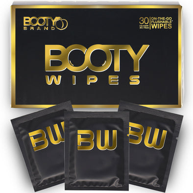 BOOTY WIPES for Men - ON THE GO - 30ct