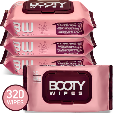 BOOTY WIPES for Women - Home Packs