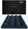 Hukimoyo® Acoustic Foam Panels for Home Studio, Sound Proof Foam for Studio Echo Proof Foam for Sound Studio Wall Panels (12 Pcs)