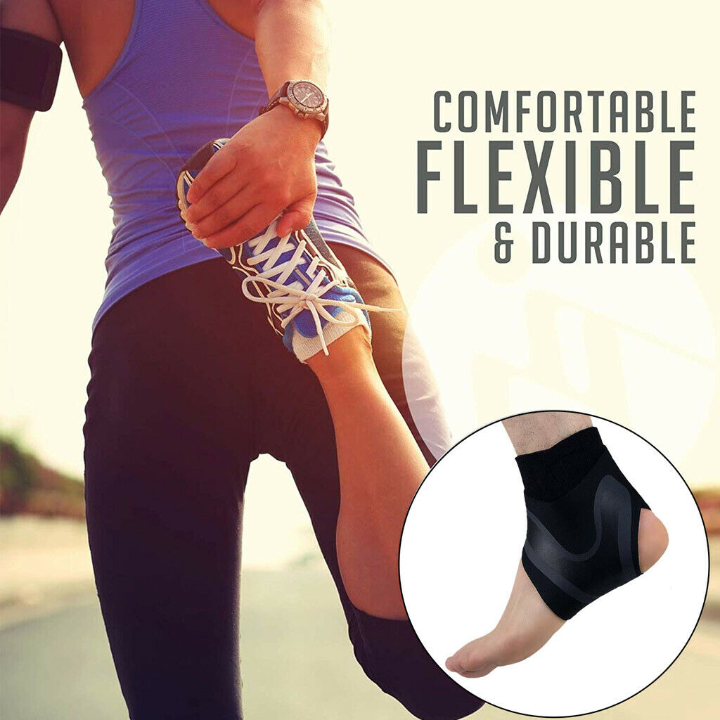 Sozzumi Ankle Support for Pain Relief and brace Sleeve, Bandage Wrap For Foot Compression Brace Guard Compression Brace for Arthritis,Sprains