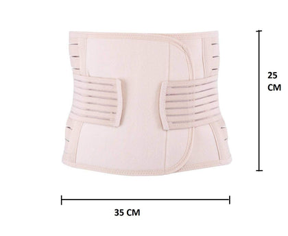 NUCARTURE® pregnancy belly after delivery for C-section belt, post delivery tummy slimming belt, maternity belt (80-110cm).