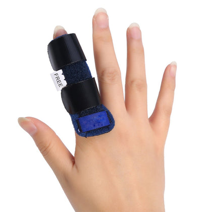 NUCARTURE® Adjustable pain relief trigger finger fix splint straightening fracture finger corrector brace sprain dislocation fracture finger splint concealer support.