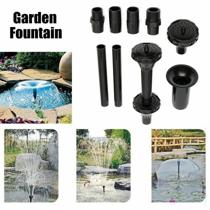 DESPACITO Nine Star Garden Water Sprinkler Fountain Head Set (Fountain KIT, Large, NS BT003,NS BT002,NS BT001)