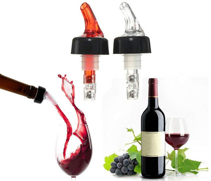 Hukimoyo Measured liquor pourer, Portable Quantitative Wine Dispenser Liquid Alcohol Dispenser Oil Bottle Measuring Tool Wine Decanter Nozzle.