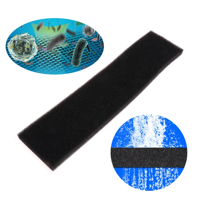 DESPACITO® Biochemical Filter Sponge Aquarium Filter Pads Filter Cotton Fish Tank Bio Filter