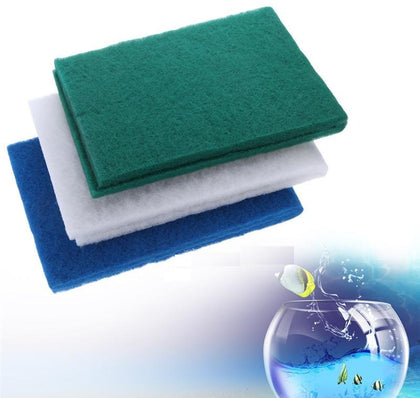 DesPacito Aquarium Biochemical Sponge Filter Aquarium Fish Tank Cotton Green Mat, Color Sponge Foam Water Mat, Aquarium Filter Sponge Xy1819 Accessories Aquatic Pet Supplies Random Color
