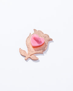Love & Rose Enamel Pin