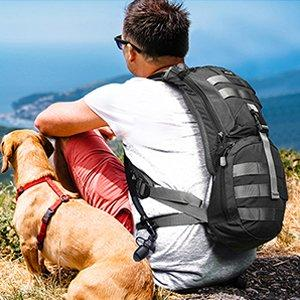 Survival Backpack with Water Reserve - NOVID Fit