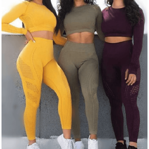 Image of Women's Two-Piece Track Suit - NOVID Fit