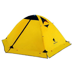 GeerTop 2 Person, 4 Season Waterproof Ultralight Double Layered Tent with Snow Skirt