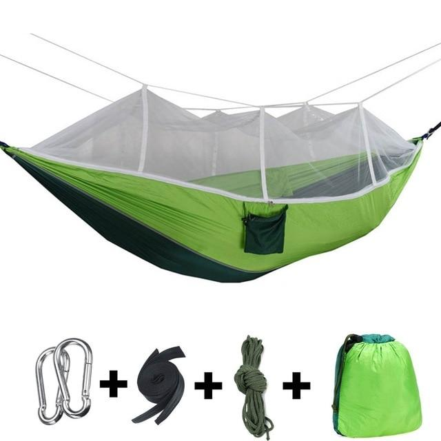 1-2 Person Portable Camping Hammock with Mosquito Net - NOVID Fit