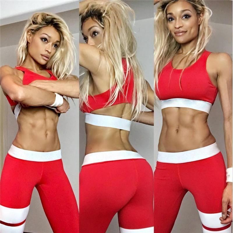 Ultra Sport Two Piece - Open Back Sports Bra with Matching Leggings - NOVID Fit