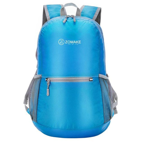 Mini-Lightweight, Waterproof & Foldable 20L Backpack for Hiking, Camping & Traveling - NOVID Fit