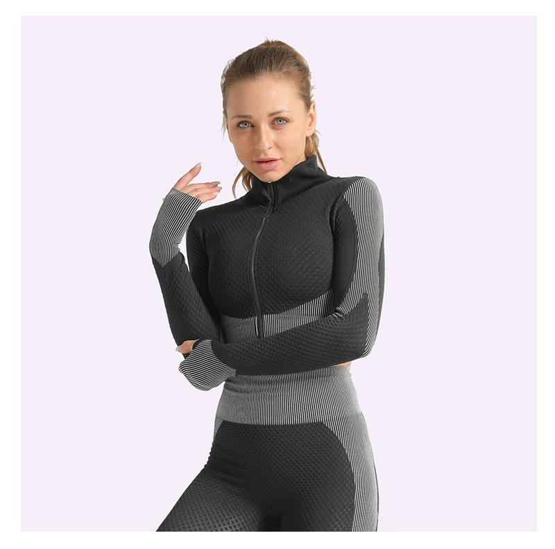 NEW Women's Lightweight Two/Three Piece Sport Yoga Suit with Sports Bra - NOVID Fit